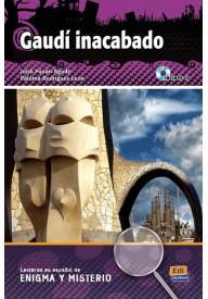 Gaudi inacabado książka + CD audio