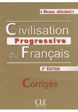 Civilisation progressive du Francais niveau debutant klucz