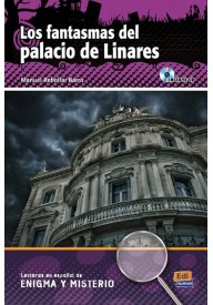 Fantasmas del palacio de Linares książka + CD audio