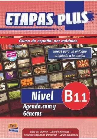 Etapas Plus B1.1 podręcznik + ćwiczenia + CD