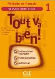 Tout va bien 1 Materiały do tablicy interaktywnej TBI