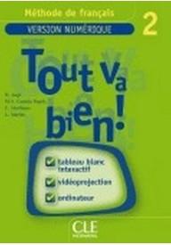 Tout va bien 2 Materiały do tablicy interaktywnej TBI