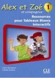 Alex et Zoe 1 Materiały do tablicy interaktywnej TBI