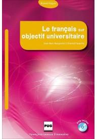 Francais sur objectif universitaire podręcznik + DVD