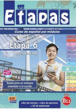 Etapas 6 podręcznik + ćwiczenia + CD audio