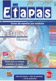 Etapas 7 podręcznik + ćwiczenia + CD audio