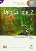 Don Quijote de la Mancha 2 libro + CD audio
