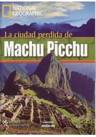 Ciudad perdida de Machu Picchu książka + DVD