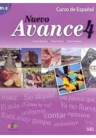 Nuevo Avance 4 podręcznik + CD audio