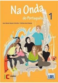 Na Onda do Portugues 1 podręcznik + ćwiczenia + CD audio