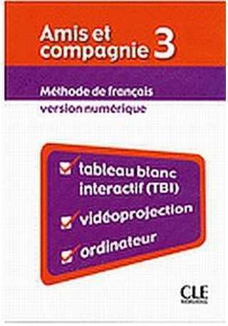 Amis et compagnie 3 materiały do tablicy interaktywnej TBI