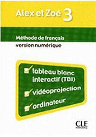 Alex et Zoe 3 Materiały do tablicy interaktywnej TBI