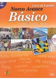 Nuevo Avance Basico A1+A2 podręcznik + CD