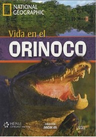Vida en el Orinoco A2 książka + DVD