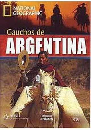 Gauchos de Argentina B2 książka + DVD