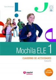 Mochila 1 ćwiczenia + CD audio + portfolio