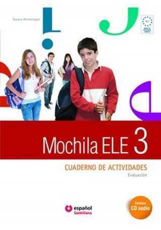 Mochila 3 ćwiczenia + CD audio + portfolio