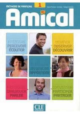 Amical 1 podręcznik + CD audio + klucze i transkrypcje