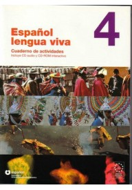 Espanol lengua viva 4 ćwiczenia + CD