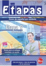 Etapas 9 podręcznik + ćwiczenia + CD audio