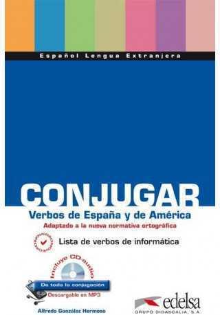 Conjugar verbos de Espana y America książka + CD