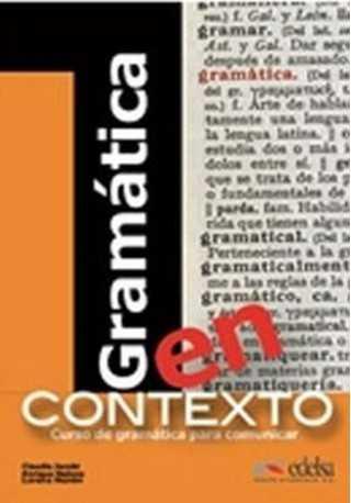 Gramatica en contexto książka