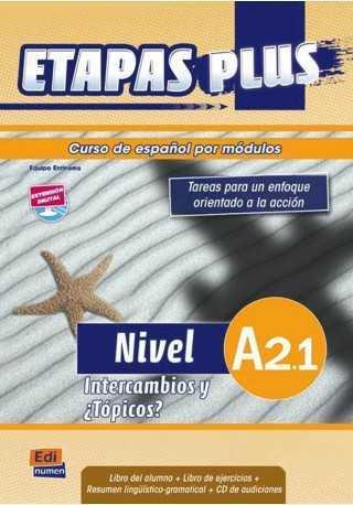 Etapas Plus A2.1 podręcznik + ćwiczenia + CD