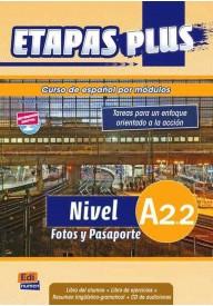 Etapas Plus A2.2 podręcznik + ćwiczenia + CD