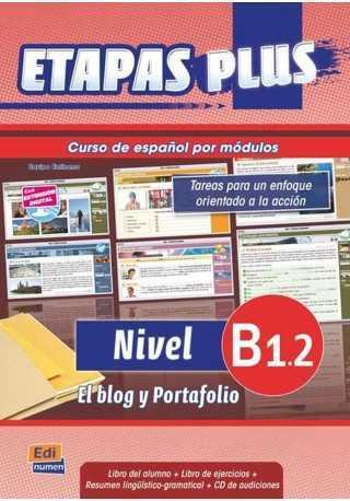 Etapas Plus B1.2 podręcznik + ćwiczenia + CD