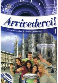 Arrivederci A1 podręcznik + ćwiczenia + CD audio + DVD
