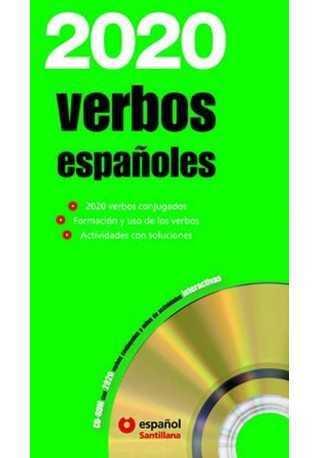 2020 verbos espanoles książka + CD ROM