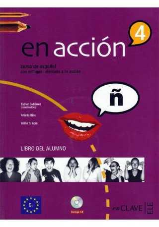 En accion 4 podręcznik + CD audio