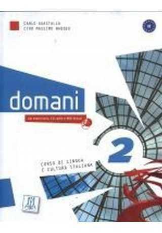Domani 2 podręcznik + płyta CD audio i DVD Rom