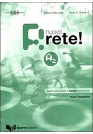 Rete Nuovo A2 przewodnik metodyczny + 2 CD audio