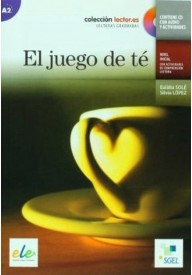 Juego de te książka + CD audio