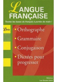 Langue francaise Grand Librio