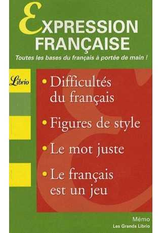 Expression francaise Grand Librio