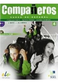 Companeros 4 podręcznik + CD audio