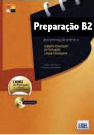 Exames de portugues B2 preparacao e modelos książka + DVD