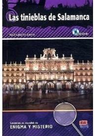 Tinieblas de Salamanca książka + CD audio