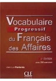 Vocabulaire progressif des Affaires książka+CD audio 2 edycj