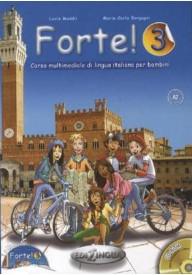 Forte 3 podręcznik + ćwiczenia + CD audio