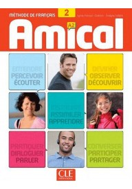 Amical 2 podręcznik + CD audio + klucze i transkrypcje