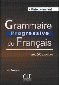 Grammaire progressive du Francais Perfectionnement książka