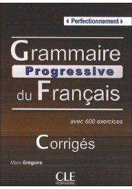 Grammaire progressive du Francais Perfectionnement klucz