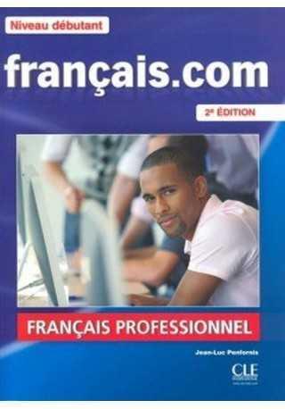 Francais.com Niveau debutant podręcznik+ DVD ROM+ guide comm