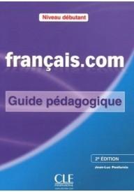 Francais.com Niveau debutant książka nauczyciela