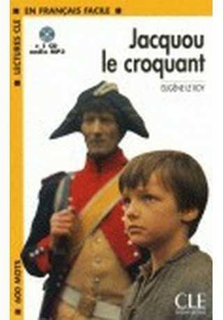Jacquou le croquant książka + płyta MP3