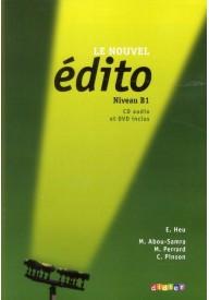 Edito B1 podręcznik + CD audio + DVD