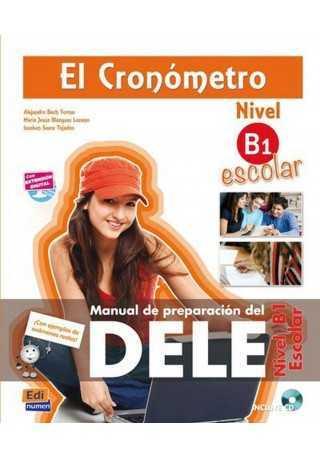 Cronometro escolar nivel B1 książka + płyta MP3